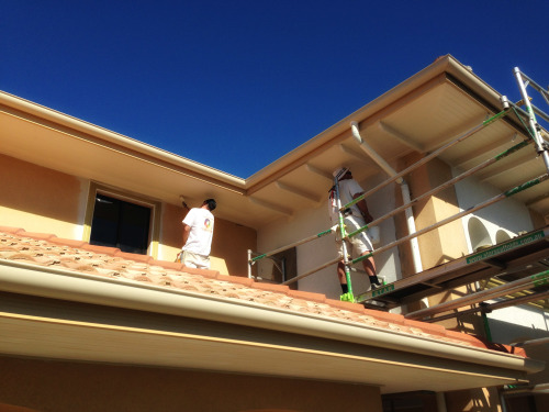 Exterior painting on the Gold Coast