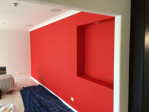 interior feature walls painting