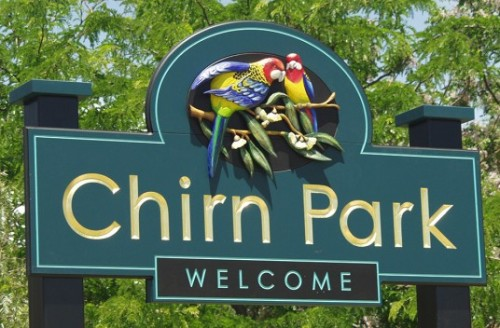chirn-park-sign