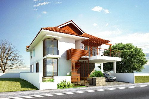 Modern house exterior front designs ideas.