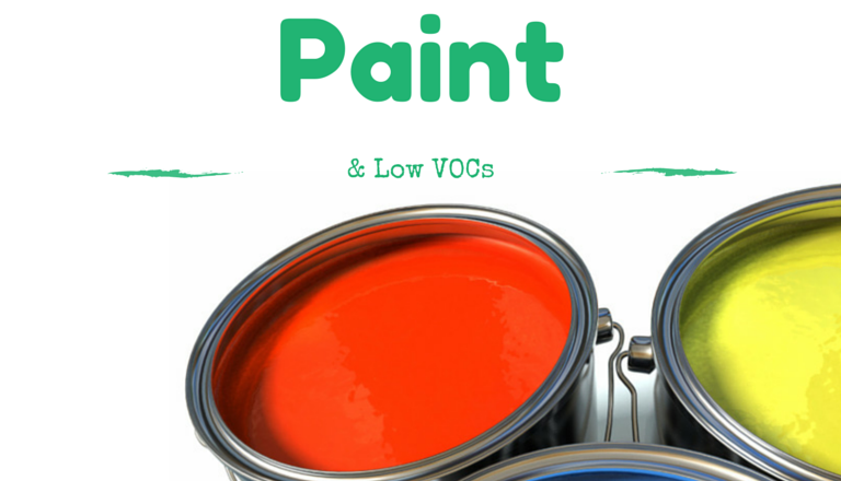 Low VOC Paints